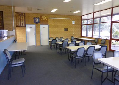 function room at darlington point club