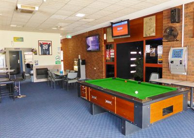bar at the darlington point sports club