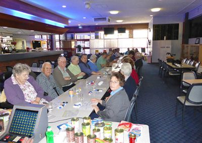 darlington point patrons enjoying the function room